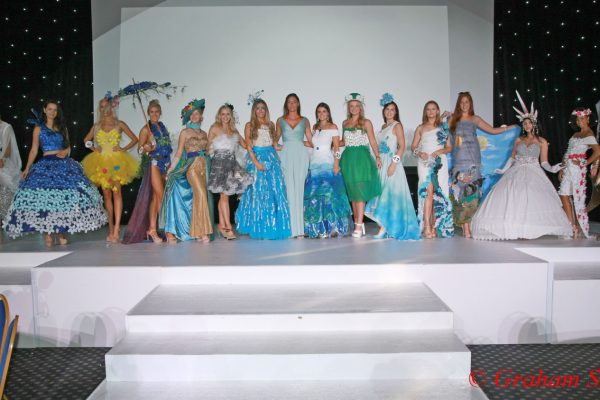 Picture Shows:  Top 15 ECO Outfits  at the Miss England Finals Part 2 Held at Kelham Hall & Country Park.  This photo is copyright Graham Stone but Licensed to Angie Beasley Miss England Director for use on the Miss England social Media / web site / and for use in Local Press  This Photo can not be used in any National News Papers / Magazines / TV ect unless agreed in writing and a New License fee being paid.  Graham Stone  Eamil: grahams_photography@hotmail.co.uk