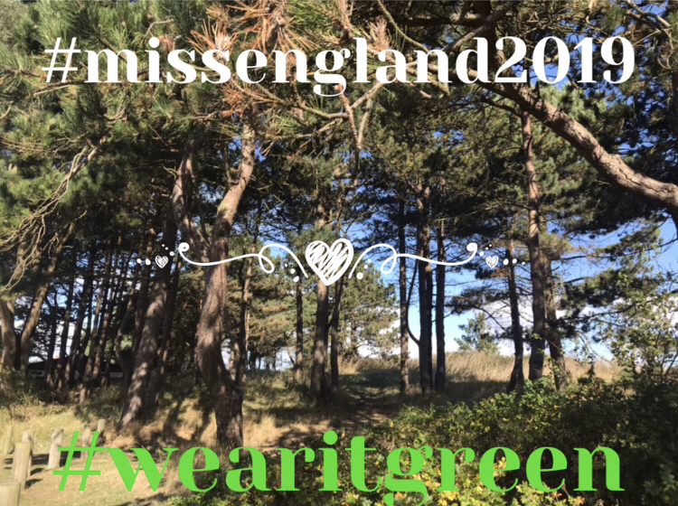 Wear it Green – Miss England 2019 Ethical Fashion Theme