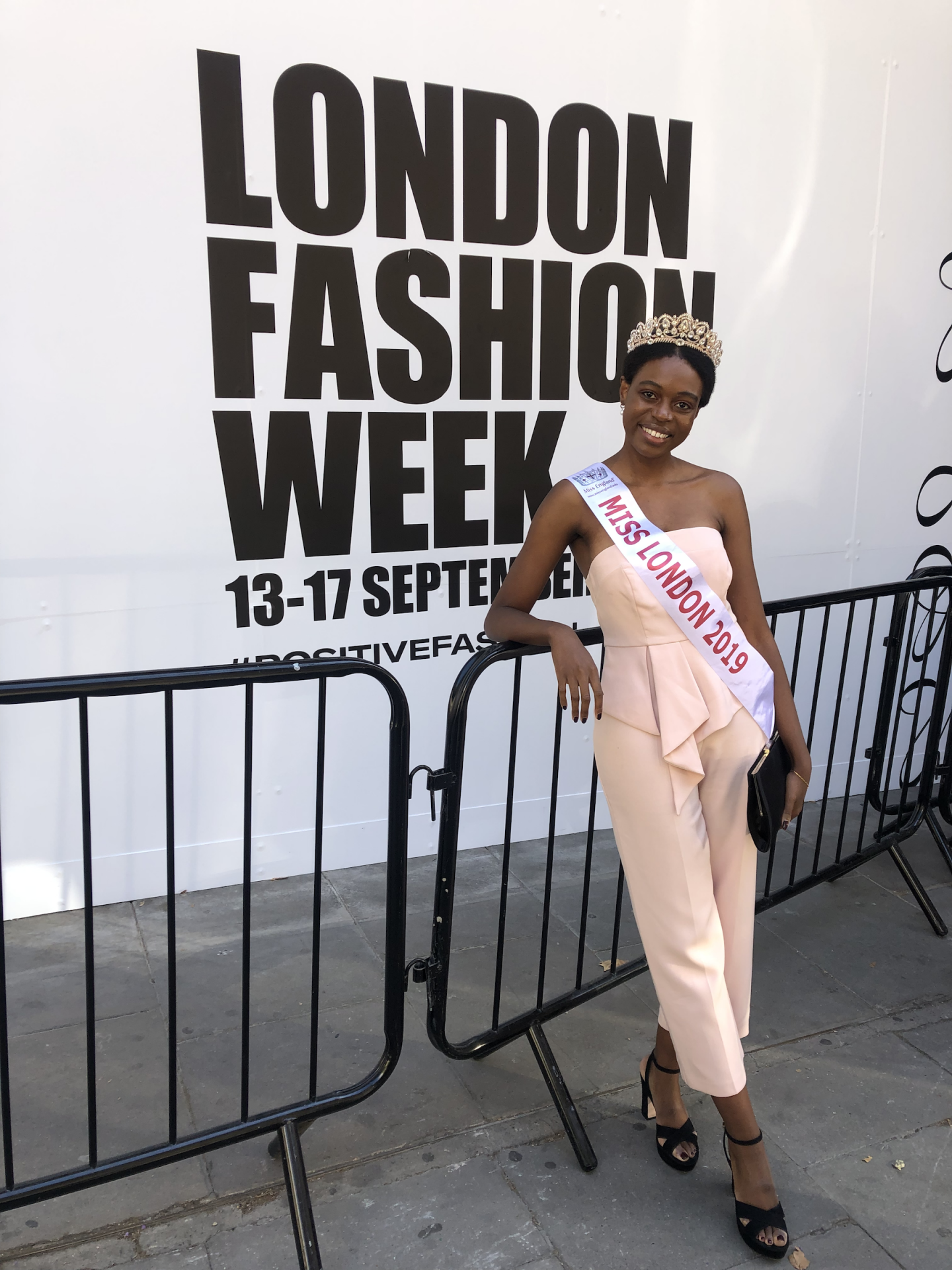 Miss London Vimbai Chapangu attends London Fashion Week – here's her review