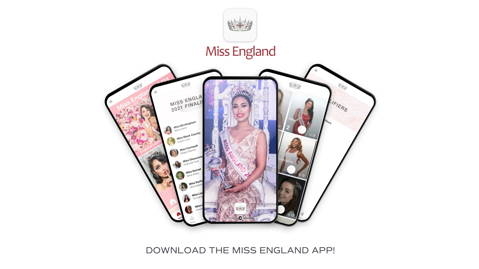 Miss England Goes Digital with its first APP