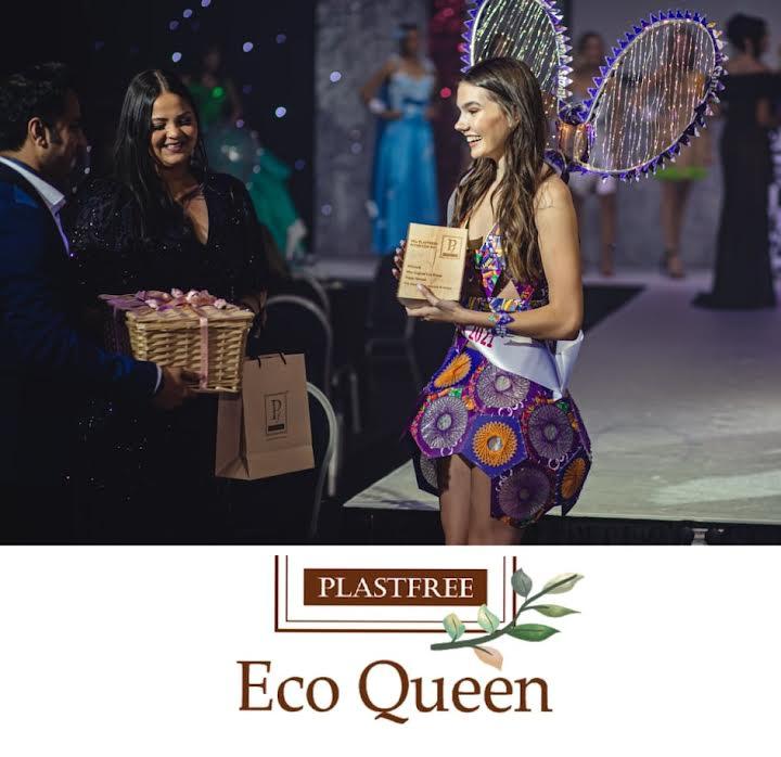 The Plastfree Eco Queen is Poppy Gerrard Miss Liverpool City Region !