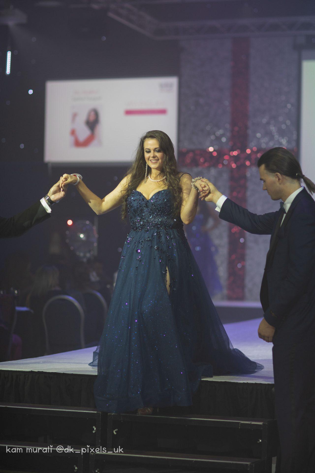 DOUBLE AWARD WINNER  Meet Miss Bradford Saskia Faugel  The People's Choice & Publicity Queen in Miss England 2021
